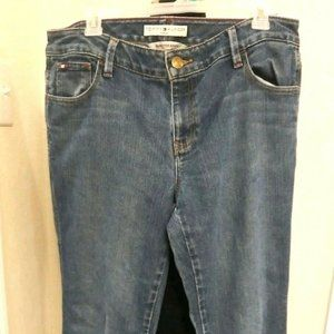 Tommy Hilfiger Womens Hipster Boot Cut Jeans